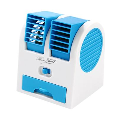台式小风扇迷你电风扇喷雾制冷小型空调学生随身便携式可充电