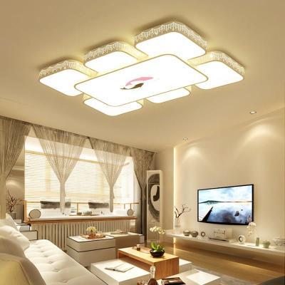 欧式客厅吸顶灯房间卧室餐厅饭厅吊灯北欧简约灯饰灯具美式吸顶灯吊灯