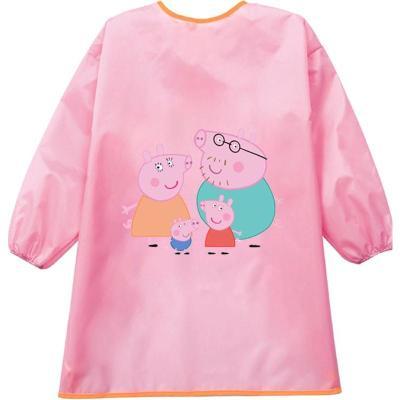 护衣防雨布婴儿口水小学生公主女孩儿童罩衣宝宝防水连体男孩长款