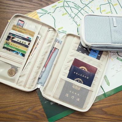 出国护照包旅行证件袋多功能男士护照夹机票夹保护套证件包收纳包