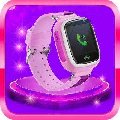 小学生天才儿童电话手表智能定位儿童手机男孩女孩通用防水GPS