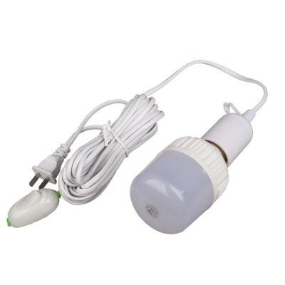 灯座电源线带开关插头螺口家用悬吊式led灯泡插座灯E27灯头延长线