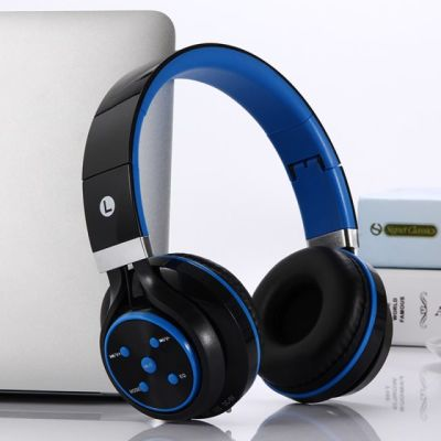 蓝牙耳机无线头戴式4.1运动跑步重低音插卡折叠式收音通话手机电