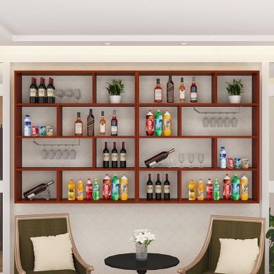 饭店酒柜吧台桌组合套装餐饮酒店宾馆转角柜台挂式前台专用
