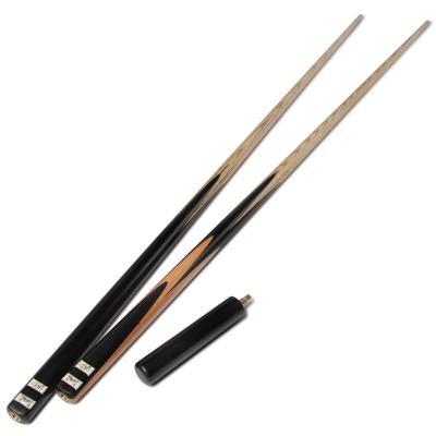 LP黑鲨通杆手工斯诺克黑8单节台球杆美式黑八小头桌球杆用品