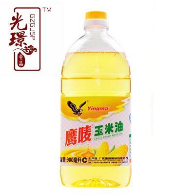 中山鹰唛玉米油900ml小瓶农家纯正压榨广东土特产烘培食用油正品